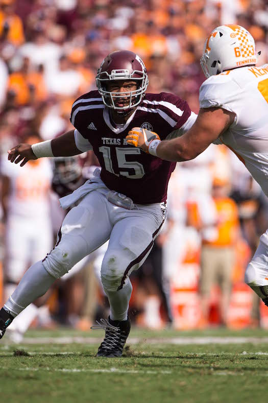 Myles Garrett, Texas A&M Aggies (October 8, 2016)