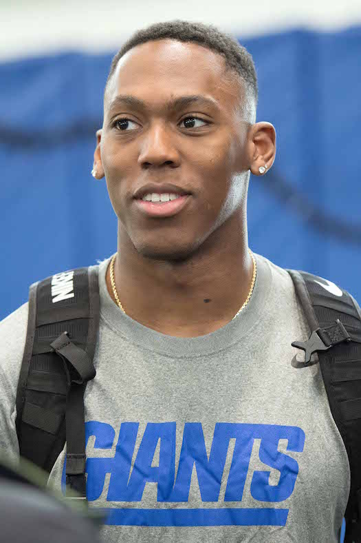 Wayne Gallman, New York Giants (May 12, 2017)