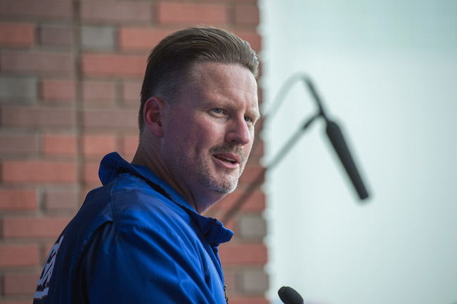 Ben McAdoo, New York Giants (June 13, 2017)