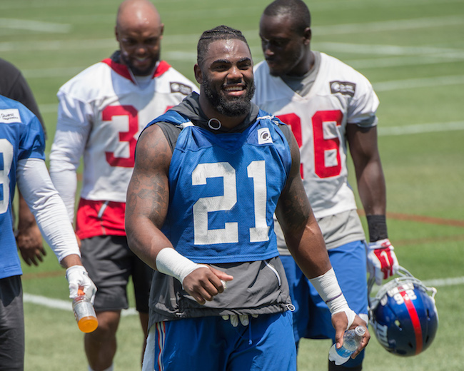 Landon Collins, New York Giants (June 13, 2017)