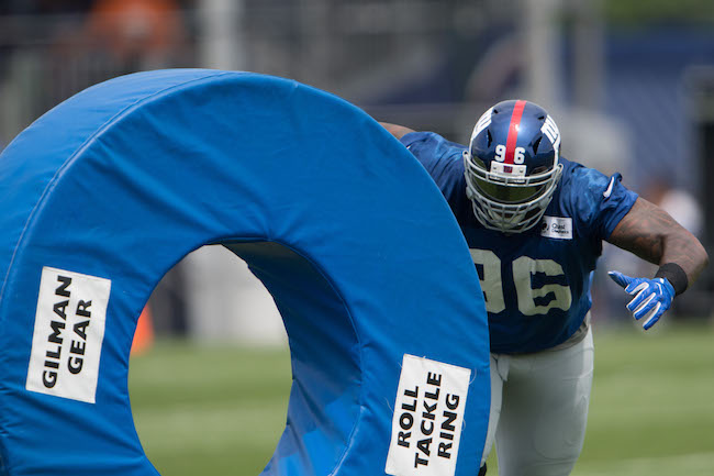 Jay Bromley, New York Giants (July 28, 2017)