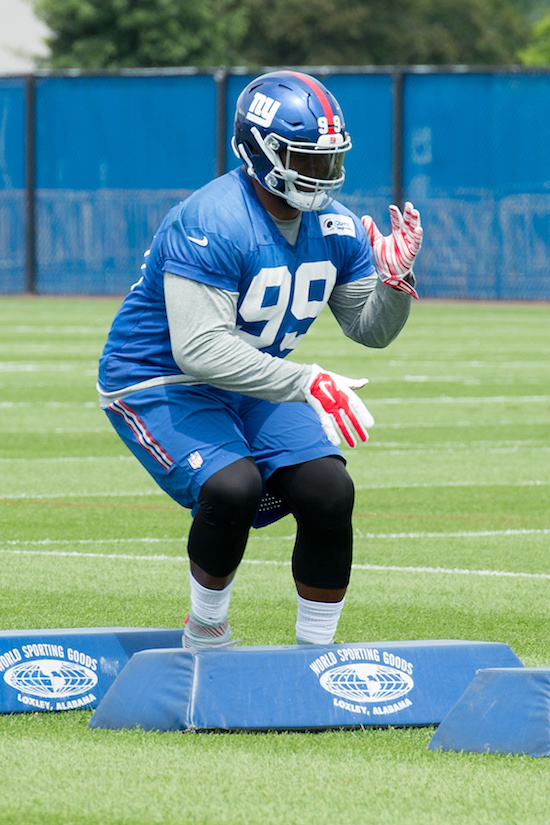 Robert Thomas, New York Giants (July 28, 2017)