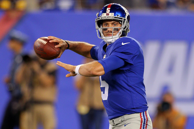 Davis Webb, New York Giants (August 11, 2017)