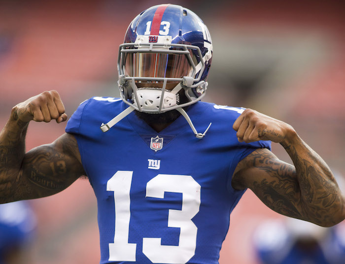 Odell Beckham, New York Giants (August 21, 2017)