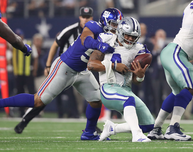 Olivier Vernon, New York Giants (September 10, 2017)