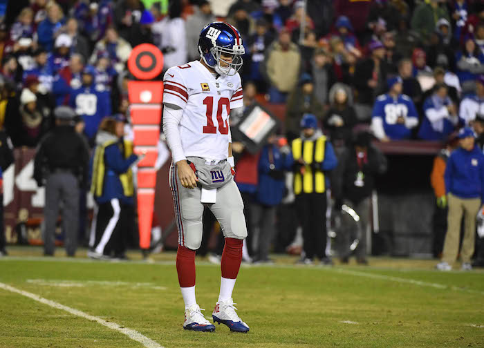Eli Manning, New York Giants (November 24, 2017)