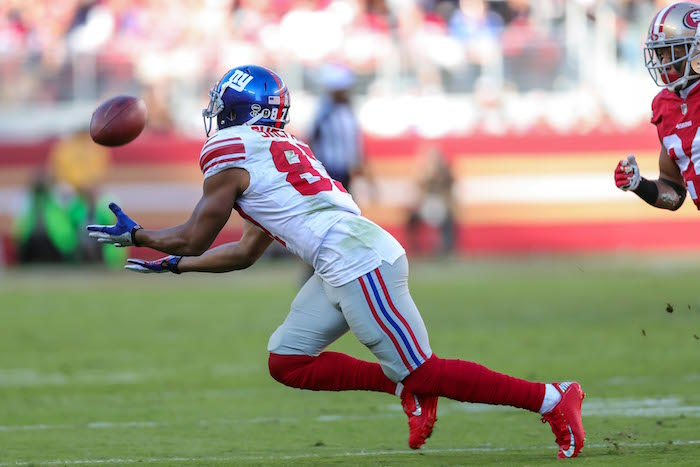 Sterling Shepard, New York Giants (November 12, 2017)
