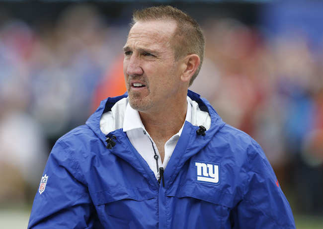 Steve Spagnuolo, New York Giants (October 8, 2017)