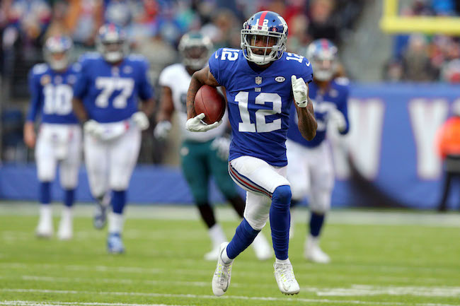 Tavarres King, New York Giants (December 17, 2017)