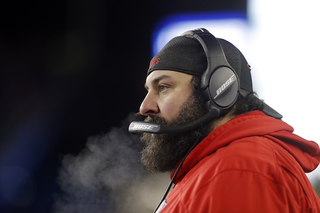 Matt Patricia, New England Patriots (January 13, 2018)