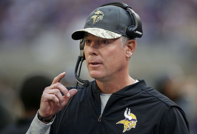 Pat Shurmur, Minnesota Vikings (November 6, 2016)