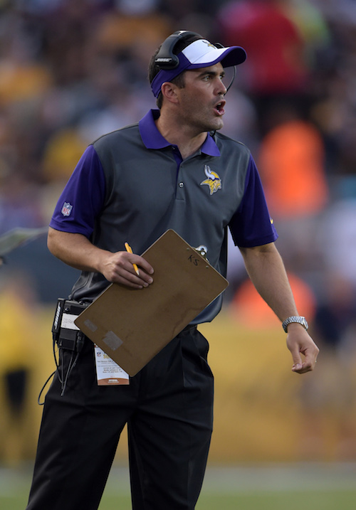 Kevin Stefanski, Minnesota Vikings (August 9, 2015)