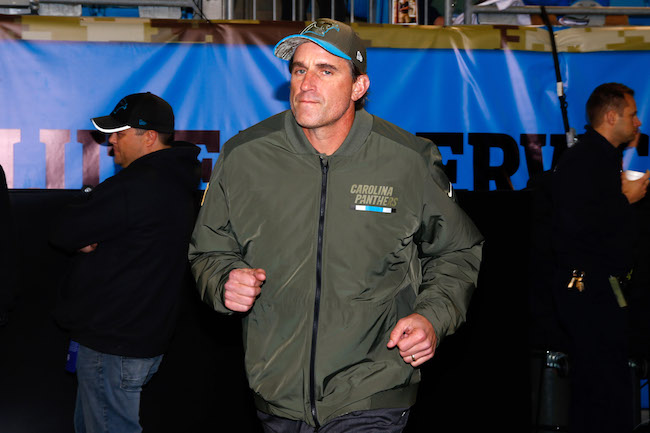 Mike Shula, Carolina Panthers (November 13, 2017)