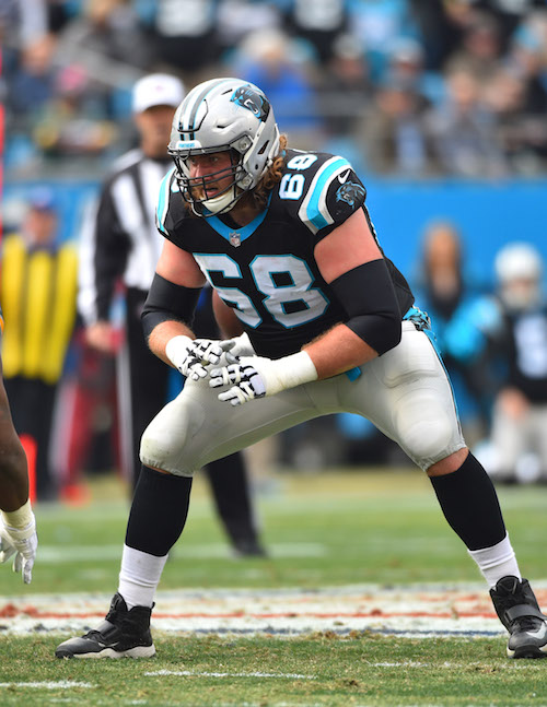 Andrew Norwell, Carolina Panthers (December 17, 2017)
