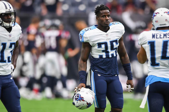 Curtis Riley, Tennessee Titans (October 1, 2017)