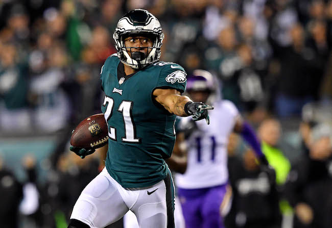 Patrick Robinson, Philadelphia Eagles (January 21, 2018)