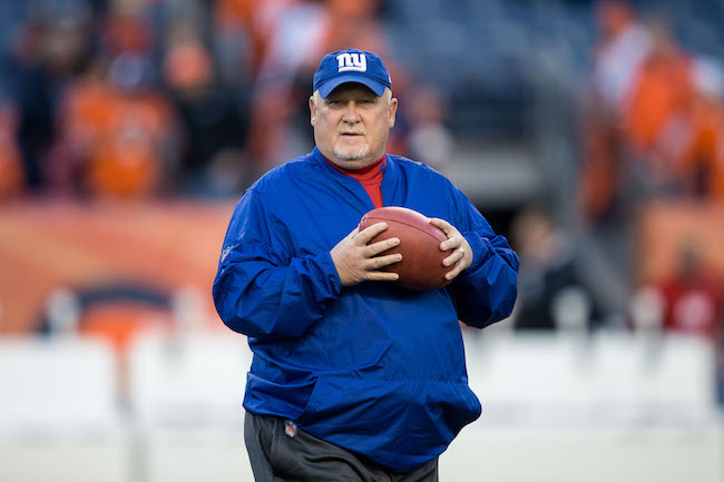 Bill McGovern, New York Giants (October 15, 2017)