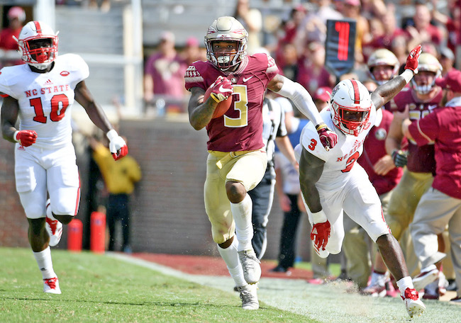 Derwin James, Florida State Seminoles (September 23, 2017)