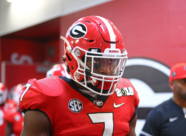 Lorenzo Carter, Georgia Bulldogs (January 8, 2018)