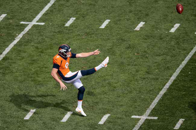 Riley Dixon, Denver Broncos (October 1, 2017)