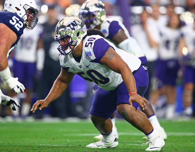 Vita Vea, Washington Huskies (December 30, 2017)