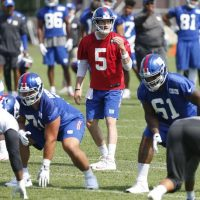 New York Giants OTA Practice #3