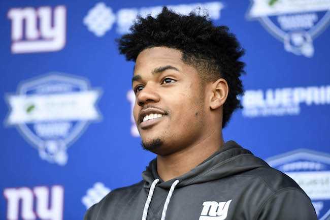 Sterling Shepard, New York Giants (May 29, 2018)