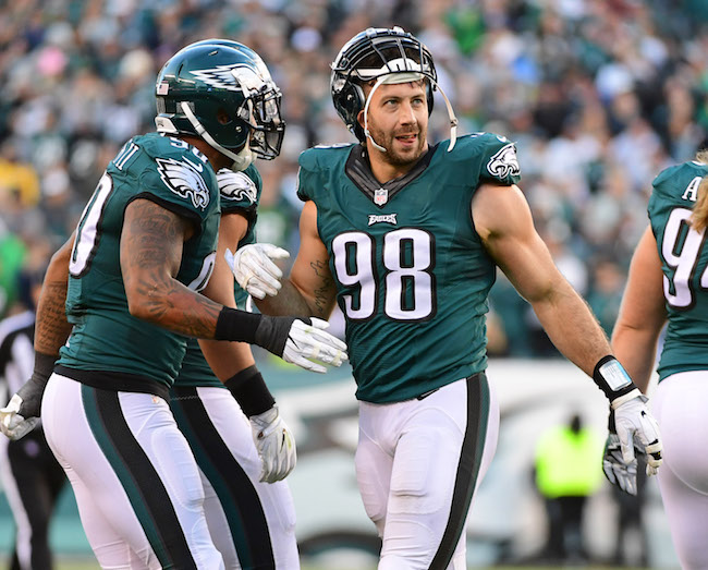Connor Barwin, Philadelphia Eagles (November 13, 2016)