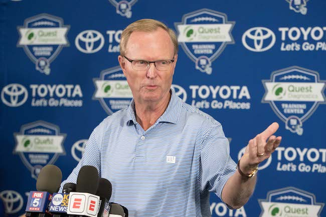 John Mara, New York Giants (July 26, 2018)