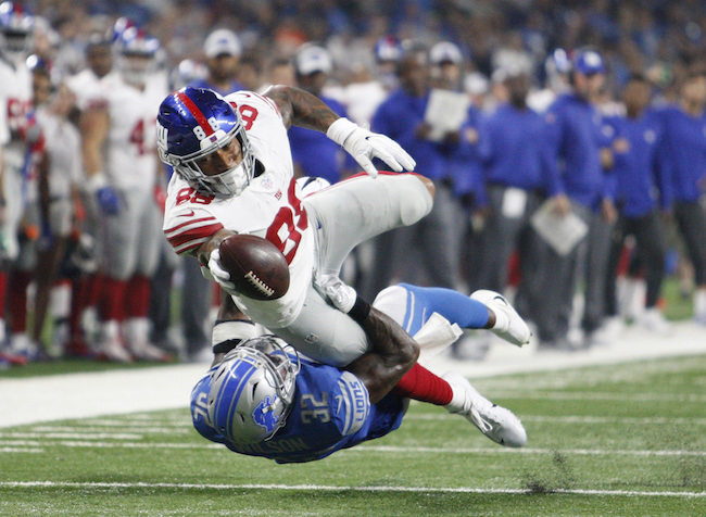 Evan Engram, New York Giants (August 17, 2018)