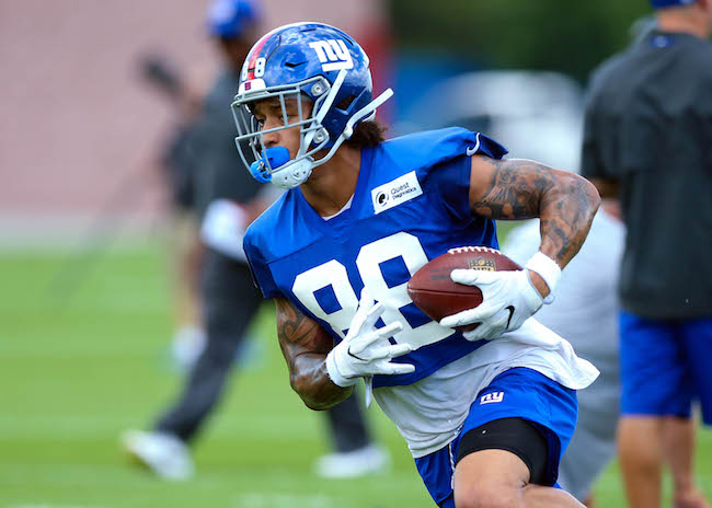 Evan Engram, New York Giants (July 26, 2018)