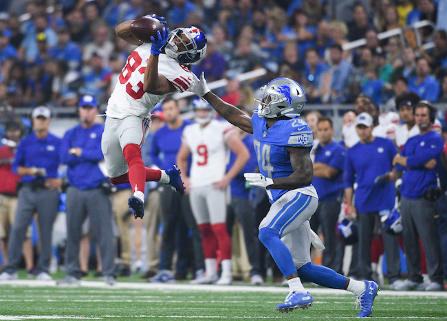 Kalif Raymond, New York Giants (August 17, 2018)