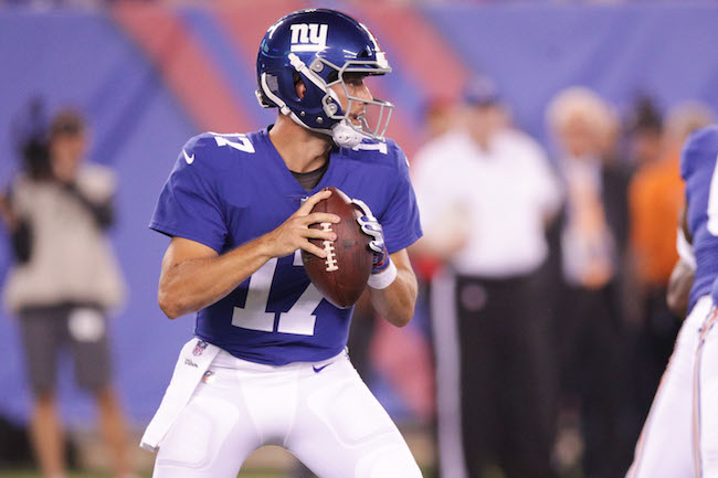 Kyle Lauletta, New York Giants (August 9, 2018)