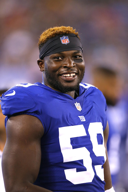 Lorenzo Carter, New York Giants (August 9, 2018)