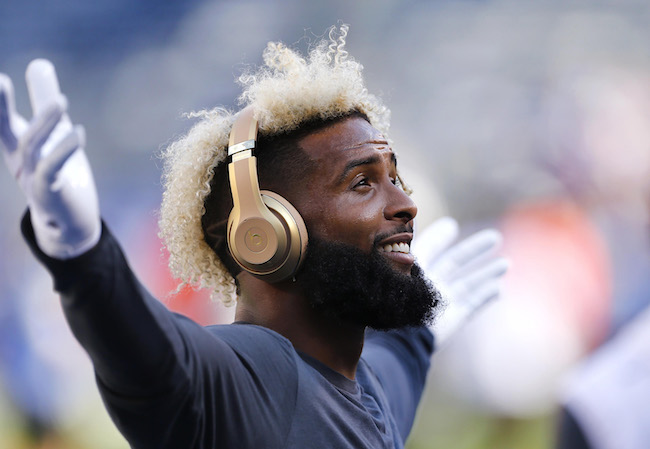 Odell Beckham, Jr., New York Giants (August 9, 2018)