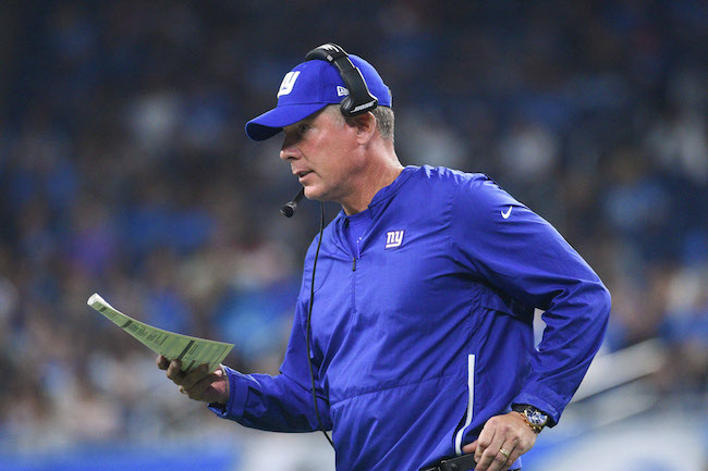 Pat Shurmur, New York Giants (August 17, 2018)