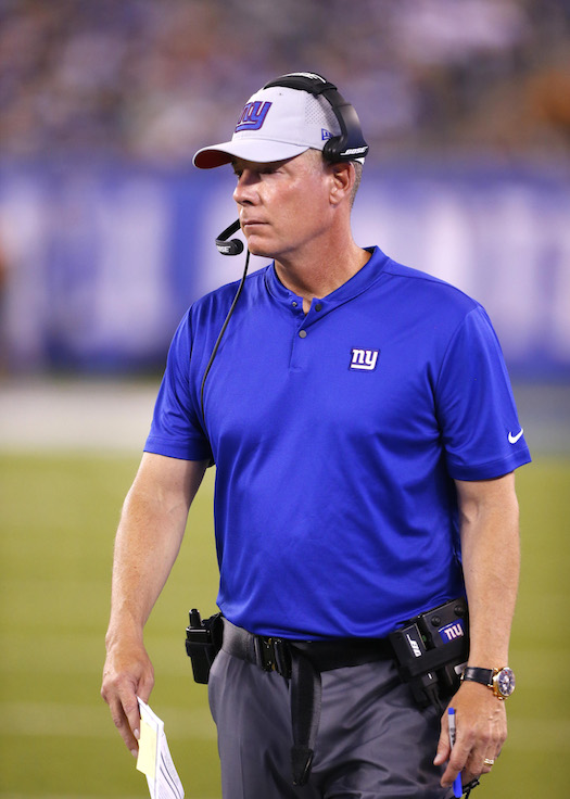 Pat Shurmur, New York Giants (August 9, 2018)