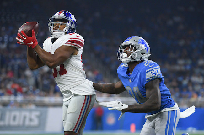 Sterling Shepard, New York Giants (August 17, 2018)