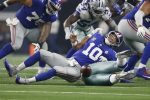 Dallas Cowboys 20 - New York Giants 13