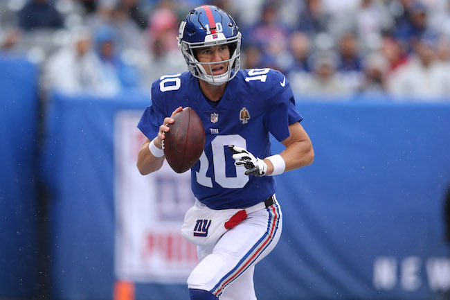 Eli Manning, New York Giants (September 9, 2018)