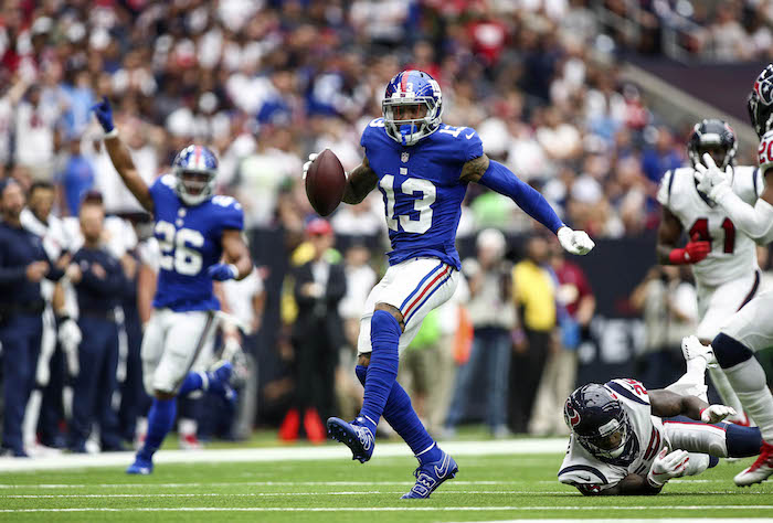 Odell Beckham, New York Giants (September 23, 2018)