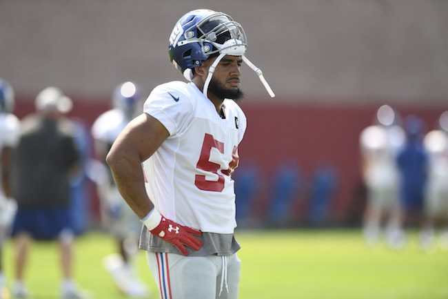 Olivier Vernon, New York Giants (August 1, 2018)