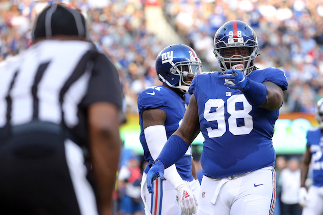 Damon Harrison, New York Giants (September 30, 2018)