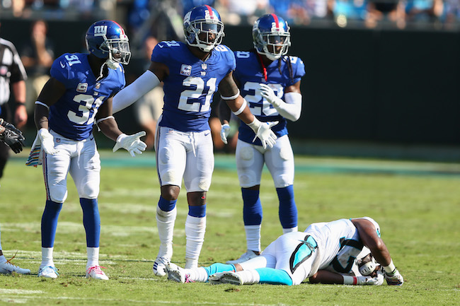 Landon Collins, New York Giants (October 7, 2018)
