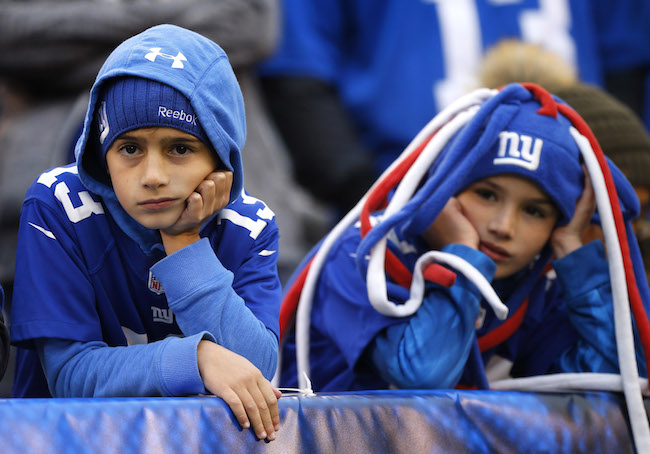 New York Giants Fans (October 28, 2018)