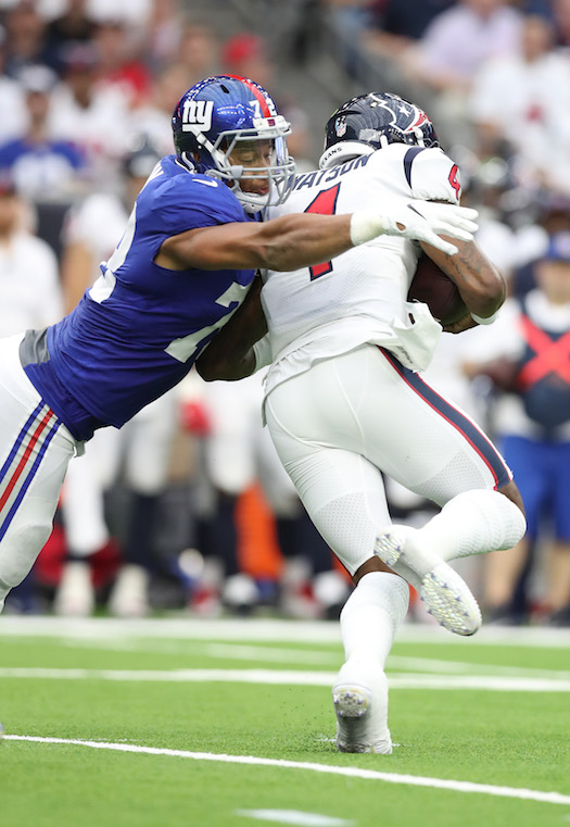 Kerry Wynn, New York Giants (September 23, 2018)