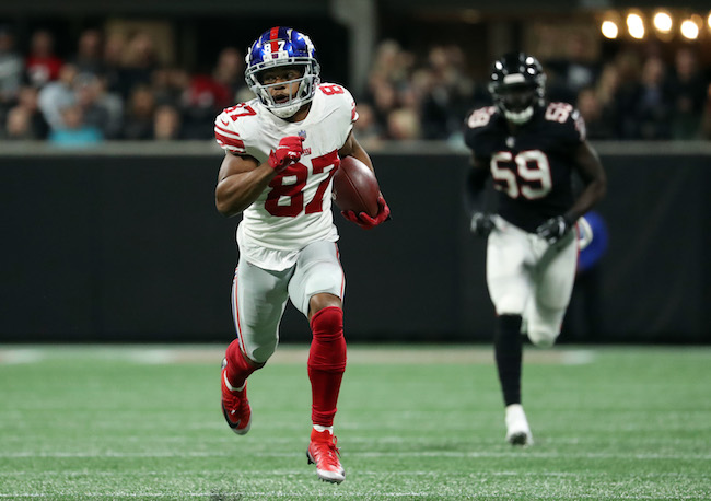 Sterling Shepard, New York Giants (October 22, 2018)
