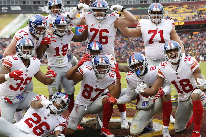 New York Giants Offense (December 9, 2018)