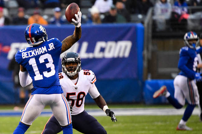 Odell Beckham, Jr., New York Giants (December 2, 2018)