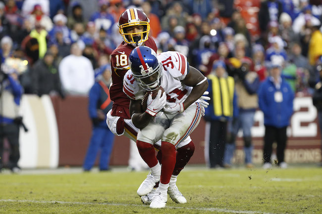 new concept 03fc7 fd4fe Giants Lose Deshea Townsend to Bears; Michael Thomas to Pro Bowl